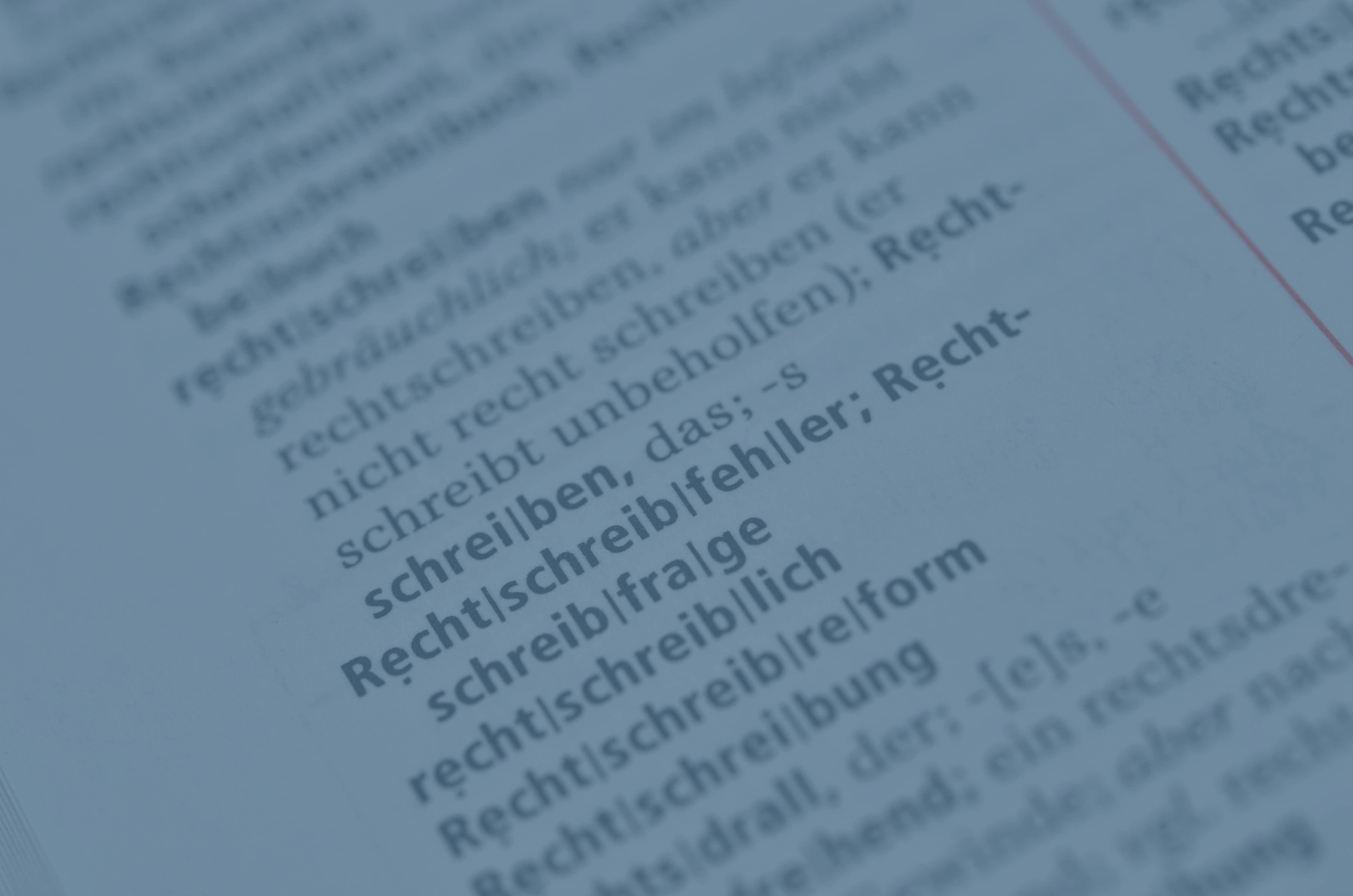 Schreiben, Wirkung, Rechtschreibung, Autor